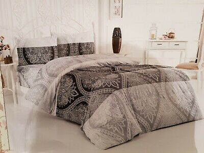 Bettwäsche garnitur set 160x220cm mit Bettdeckenbezug 2x Kopfkissen+ Bettbezug