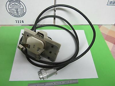 Microscope Part Nikon Japan Hg 100w Lamp Holder Illuminator Optics Binq6-07