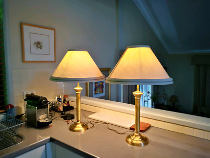 Solid Brass Quality Table Lamps