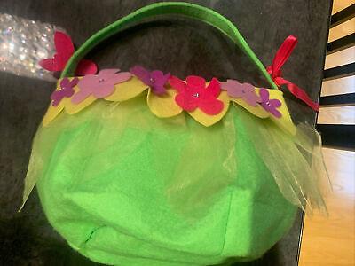 Tinkerbell Fairy Costume Basket Disney Store, Halloween, Easter, Dress Up