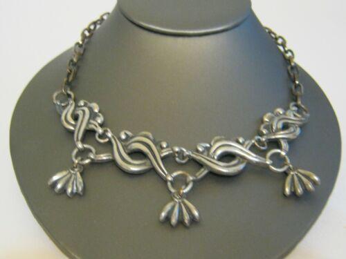 William Spratling Vintage Mexican Necklace * Gorgeous Heavy Design * 1940