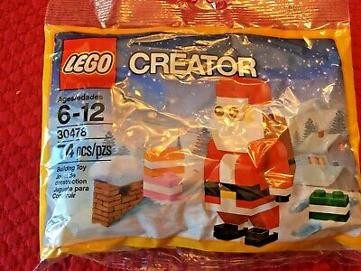 NEW Lego Creator 30478 Christmas Poly Bag Santa Claus Minifigure HTF Building