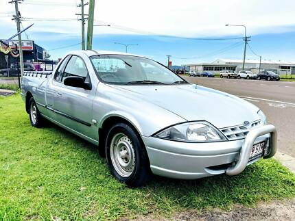 2002 Ford Falcon 5-Sp Manual Utility – ONLY 140***Klms! Garbutt Townsville City Preview