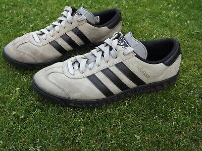 Mens Adidas Hamburg suede trainers, uk size 8