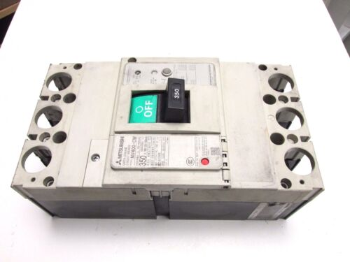 * Mitsubishi Earth Leakage Circuit Breaker 350A, 3P, 440V Cat# NV400-CW .. UC-10