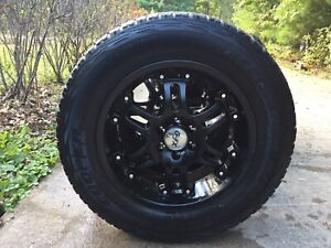 Nissan Alloy Rims with AT3's