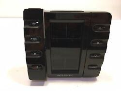 Chaney AcuRite Projection Alarm Clock NO Outdoor Temperature, Black NO POWER COR