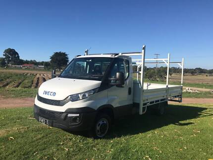 2017 Iveco Daily 45 170 Cab Chassis Utility Truck Near New