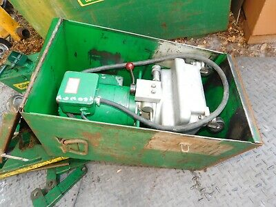 Greenlee Super Tugger Cable Puller 960 Hydraulic Pump 6049 Adaptor Orlando