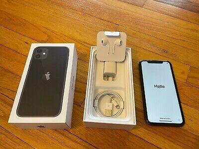 Apple iPhone 11 - 64GB - Black (Unlocked)