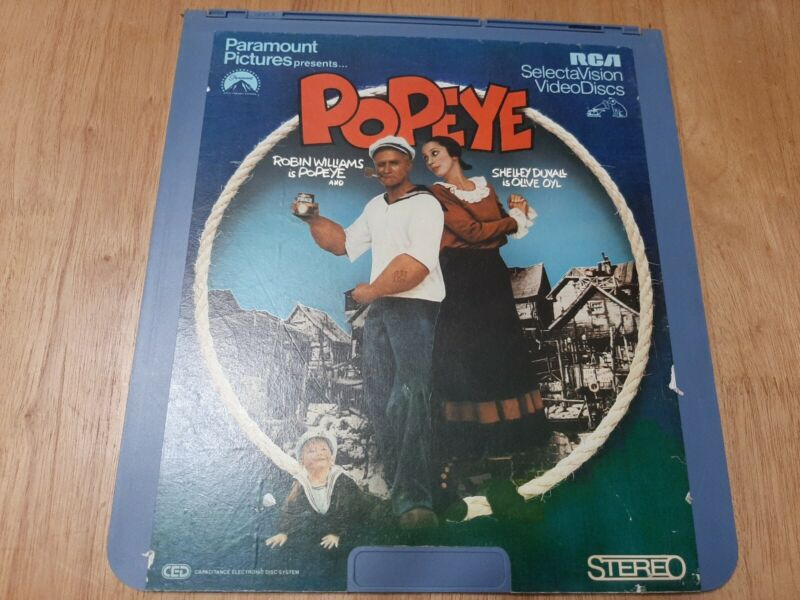 RCA Video Disc: Popeye