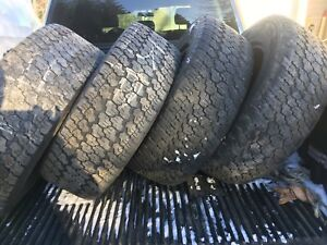 275/65/18 Goodyear Wrangler Winter Tires