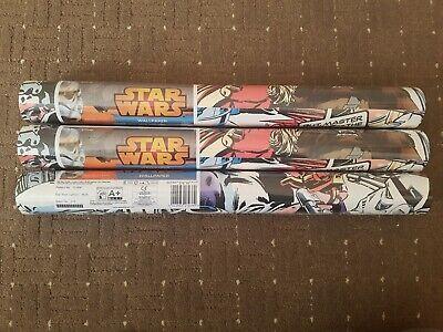 4 Rolls Disney STAR WARS Pop Art Cartoon Wallpaper Graham Brown70-456 015