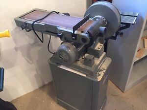 Like-New King Canada Combination Disc And Belt Sander