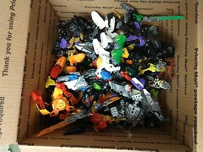 Lot of LEGO BIONICLE Hero Factory 4 Pounds of Parts