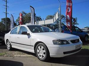 2003 Ford Falcon Sedan - Rego / Roadworthy - Red Leather interior Lawnton Pine Rivers Area Preview