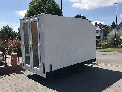 Twin Axle Box/Events Trailer