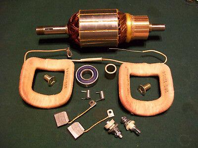 Delco 12v Generator Armature Field Coil Kit Case 310 310c 420 1100371