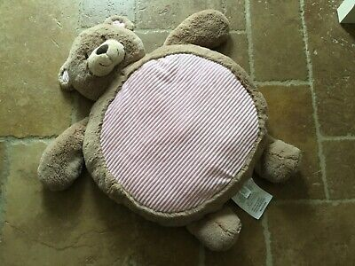 Baby Girls Teddy Bear Soft Play Mat, used for sale  Shipping to South Africa