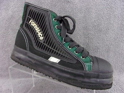 forest ice canadian design broom ice hockey black green mens shoes size 9 - Broom Hockey