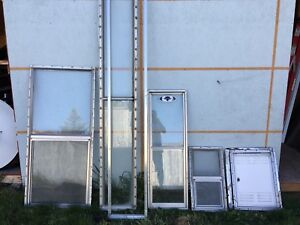 used rv windows from truck camper. $50 obo for all items