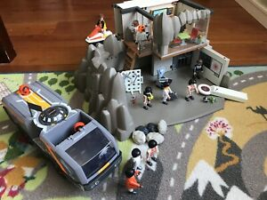 Playmobil Spy Headquarters and vehicle