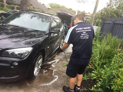 HAND CAR WASH & DETAILING - POSH WASH MOBILE -------CALL US TODAY