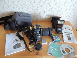 Nikon D5300, 18-140mm lens, + accs + Nikon SB-600 autoflash. Margate Kingborough Area Preview