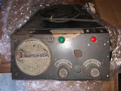 Vintage Motorola Mobile Base Two Way Tube Radio Ham L43ggb