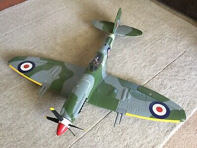 RC Durafly Spitfire Plane 5 channel with retracts And Flaps, Ready To Fly +rx