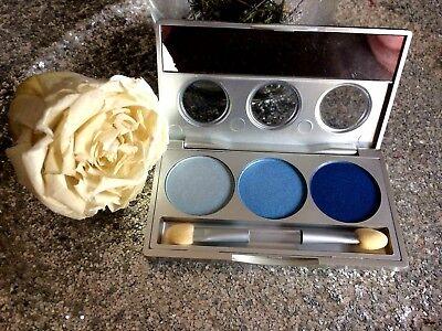 BIGUINE MAKEUP Paleta Sombra De Párpados Reve Azul 8208 + Espejo Y...