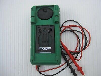 Greenlee Dm 800 Multimeter Wtest Leads.