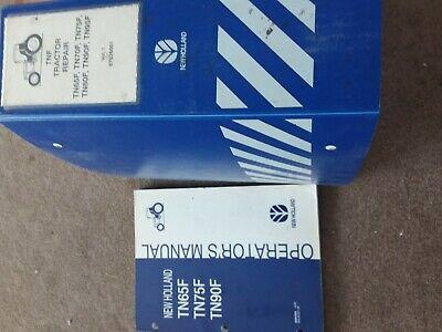 New Holland Tractor Repair Manual Operators Manual Tn65f Tn75f Tn90f