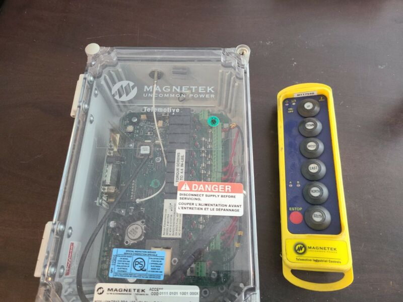 magnetek crane remote and transmitter tr12-pda