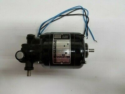 New Old Stock - Bodine Electric Co. Nyc-12r Motor 115 Volt 1125 Hp 1800 Rpms