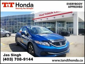 2015 Honda Civic EX * Local Car, One Owner, Heated Seats, Bac...