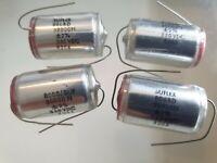 Suflex Polystyrene Axial Capacitor 20000pF 160V 2/% 1983 5 Pieces OM0929R