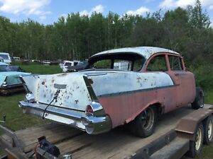 57 Chevy  2 dr  150