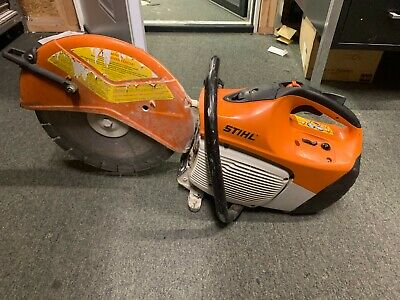 Stihl Ts420 14 Concrete Pavement Cut Off Saw