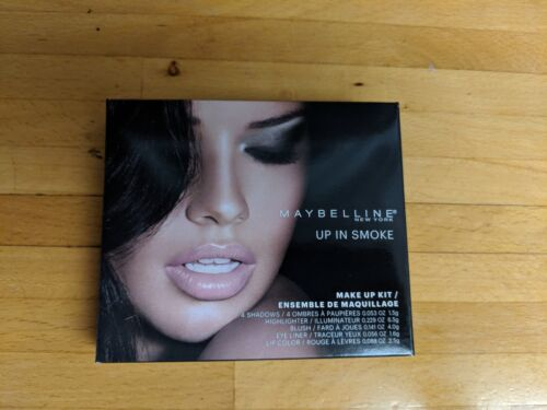 MAYBELLINE NEW YORK UP IN SMOKE MAKE UP KIT NIB
