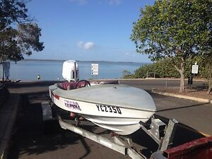 18ft ski master with 225 Johnson Noosa Heads Noosa Area Preview