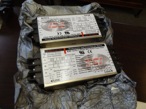 WHOLESALE LIQUIDATION TRANS-COIL KRF9ATB 3-PHASE POWER LINE FILTER LOT OF 2 NOS