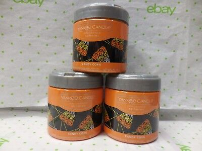 Yankee Candle Fragrance Sphere CANDY CORN  Set Of 3 Free Ship (Halloween Candy Bouquet)