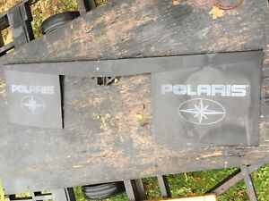 Polaris salt, snow, splash guard for truck hitch