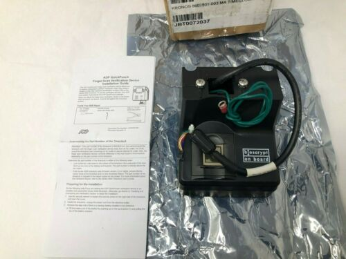 Kronos 8602801-03 Biometric Reader Fingerprint Scanner for System 4500