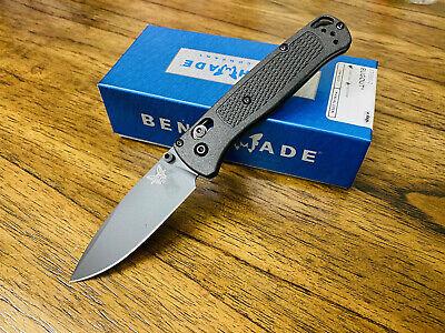 "Benchmade 535BK-2 Bugout AXIS Folding Knife 3.24"" S30V Diamond-like Carbon BNIB"