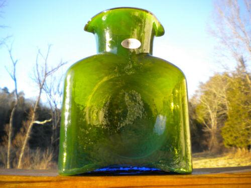 Blenko Glass Water Bottle Chameleon 384