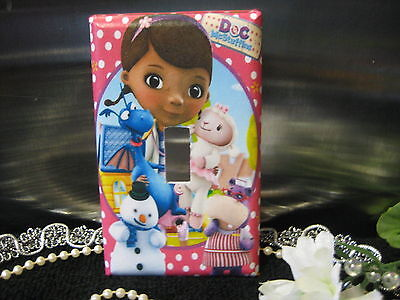 Doc McStuffins Light Switch Wall Plate Cover #1 - Variations