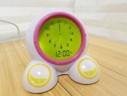 Onaroo Teach Me Time! Talking Bedside Alarm Clock and Night-Light