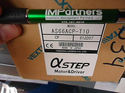 Oriental Motor As66acp-t10 Alpha-step Stepper Motor System. Brand New